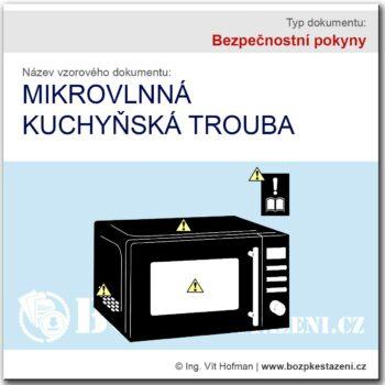 Bezpečnostní pokyny - mikrovlnka