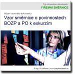 Vzor směrnice o povinnostech BOZP a PO k exkurzím