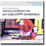 Vzorový evidenční list pro výdej OOPP