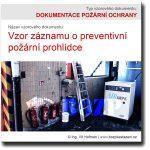 Vzor záznamu o preventivní požární prohlídce