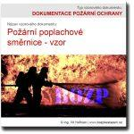 Požární poplachové směrnice – vzor ke stažení