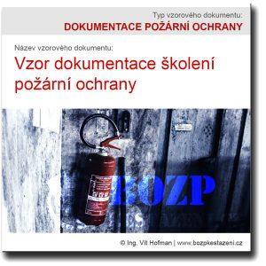 Vzor dokumentace školení požární ochrany