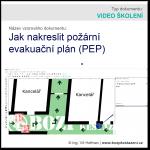 Jak nakreslit požární evakuační plán [Video školení]