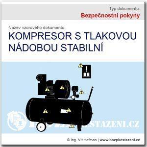 Bezpečnostní pokyny - kompresor