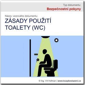 Bezpečnostní pokyny - WC