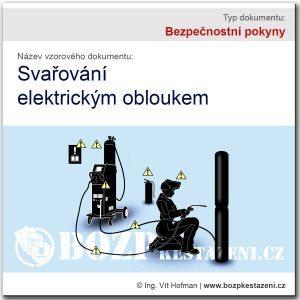 Bezpečnostní pokyny - svařování elektrickým obloukem