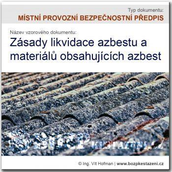 Zásady likvidace azbestu